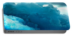 Portable Battery Charger featuring the photograph Icebergs by Amanda Stadther