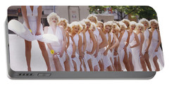 Iconic Marilyn Portable Battery Charger by Shaun Higson