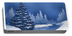 Icy Blue Portable Battery Charger