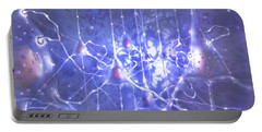 Illustration Depicting Pyramidal Neurons Portable Battery Charger