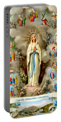 Immaculate Conception Portable Battery Charger