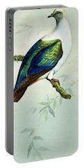 Imperial Fruit Pigeon Portable Battery Charger by Bert Illoss
