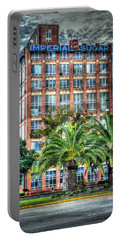 Imperial Sugar Factory Daytime Hdr Portable Battery Charger