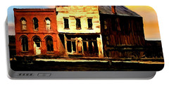 Impression Of Sunrise Bodie California  Portable Battery Charger