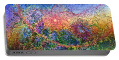Impressionist Dreams 1 Portable Battery Charger by Casey Kotas