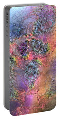 Portable Battery Charger featuring the digital art Impressionist Dreams 2 by Casey Kotas