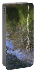 Portable Battery Charger featuring the photograph Impressionist Reflections by Patrice Zinck