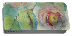 Impressionist Roses  Portable Battery Charger