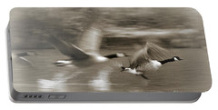 In A Blur Of Feathers Portable Battery Charger