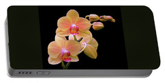 In Bloom Portable Battery Charger by Rona Black