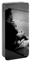 In Daddy's Arms Portable Battery Charger