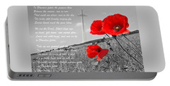 In Flanders Fields Portable Battery Charger