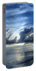 In Heaven's Light - Beach Ocean Art By Sharon Cummings Portable Battery Charger