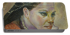 In Her Thoughts Portable Battery Charger