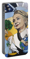 In Honor Of Hillary Clinton Portable Battery Charger