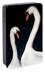 Portable Battery Charger featuring the photograph In Love by Laura Melis