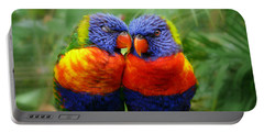 In Love Lorikeets Portable Battery Charger