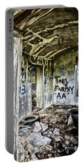 In Ruins Portable Battery Charger by Erika Weber