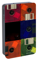 Portable Battery Charger featuring the photograph In Search Of The Missing Disc by Michael Hoard