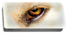 Portable Battery Charger featuring the photograph In The Eyes.... by Rod Wiens