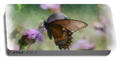 In The Flowers Portable Battery Charger