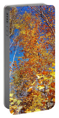 In The Forest At Fall Portable Battery Charger