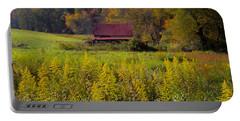 In The Heart Of Autumn Portable Battery Charger