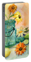 In The Lime Light Portable Battery Charger by Marilyn Smith