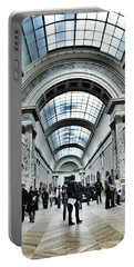 In The Louvre  Portable Battery Charger by Marianna Mills