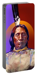 In The Name Of The Great Spirit Portable Battery Charger