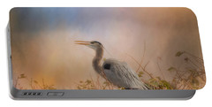 In The Nest - Great Blue Heron Portable Battery Charger
