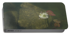 Portable Battery Charger featuring the photograph In The Pond by Carol Lynn Coronios