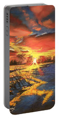 In The Still Of Dawn-2 Portable Battery Charger