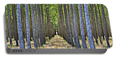 In The Woods Portable Battery Charger by Michelle Calkins