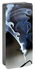Incense Smoke Dance - Smoke - Dance Portable Battery Charger