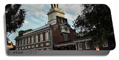 Independence Hall Portable Battery Charger by Ed Sweeney