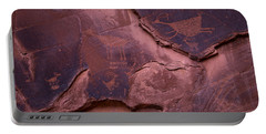 Indian Cave Art Portable Battery Charger