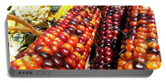 Indian Corn Portable Battery Charger by Caryl J Bohn