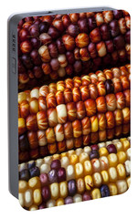 Indian Corn Harvest Time Portable Battery Charger by Garry Gay
