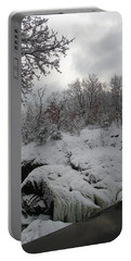 Indian Leap In Winter Portable Battery Charger