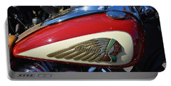 Indian Motorcycle Gas Tank Portable Battery Charger