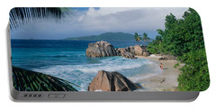 Indian Ocean La Digue Island Seychelles Portable Battery Charger