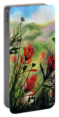 Indian Paint Brush Portable Battery Charger