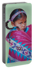Indian Princess Portable Battery Charger