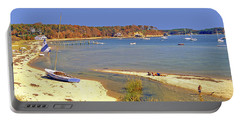 Indian Summer Afternoon Pleasant Bay Cape Cod Massachusetts Portable Battery Charger