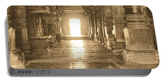 Portable Battery Charger featuring the photograph Indian Temple by Mini Arora