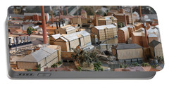 Industrial Town Miniature Model Portable Battery Charger