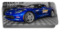 Indy 500 Corvette Pace Car Portable Battery Charger