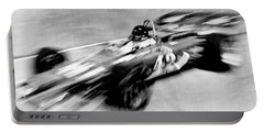 Indy 500 Race Car Blur Portable Battery Charger