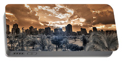 Infrared Sunset Portable Battery Charger